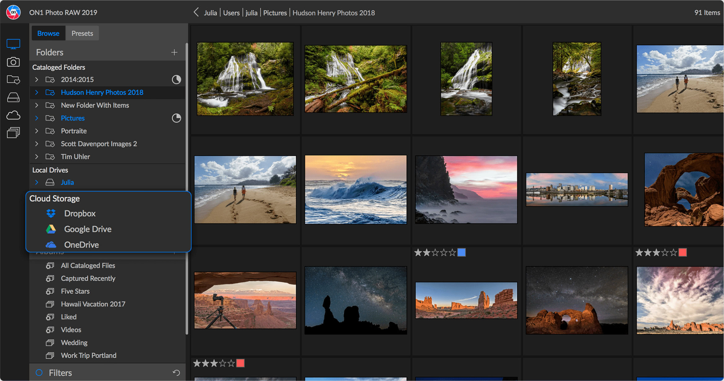 ON1 Photo RAW 2019 - Photo Editor and Lightroom Alternative