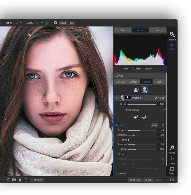 Retouching without the Learning Curve