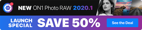 ON1 Photo RAW 2020.1 Launch Sale!