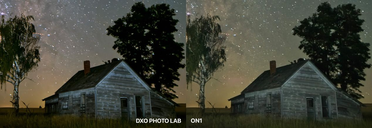 DxO Photo Lab Compared to ON1 at 200%