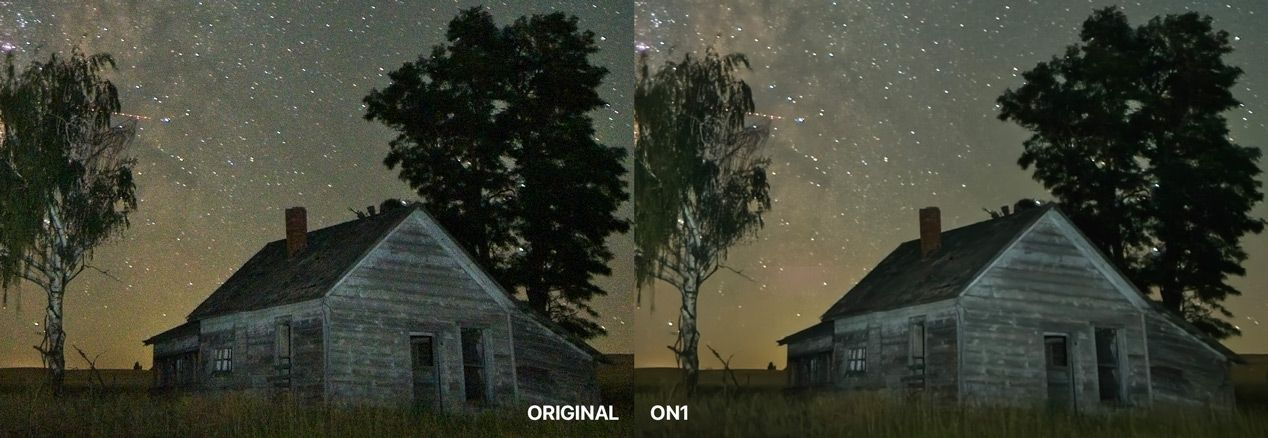 Original Photo Compared to ON1 at 200%