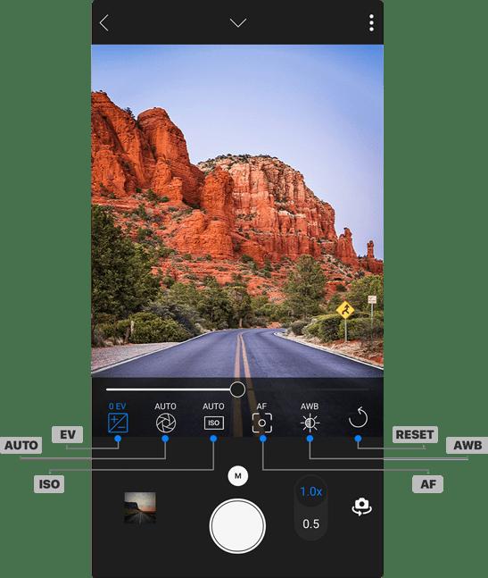 A Pro-Grade Camera App.
