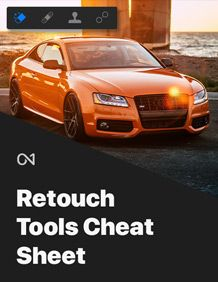 Retouch Tools Cheat Sheet