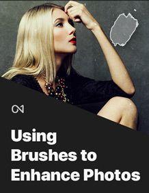 Using Brushes to Enhance Photos